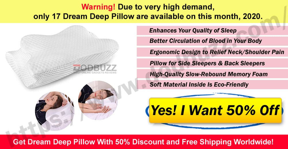 Dream Deep Pillow Where to Buy on this month