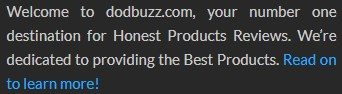 dodbuzz's Footer