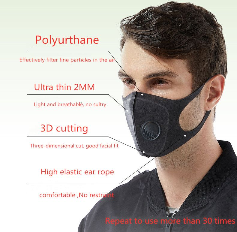 Pollution Breathing Mask OxyBreath Pro