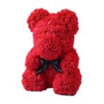 Rose Bear Romantic Gift, Teddy Bear Made of Roses, Perfect Romantic Cute Bear Gift, Made of Roses Bear