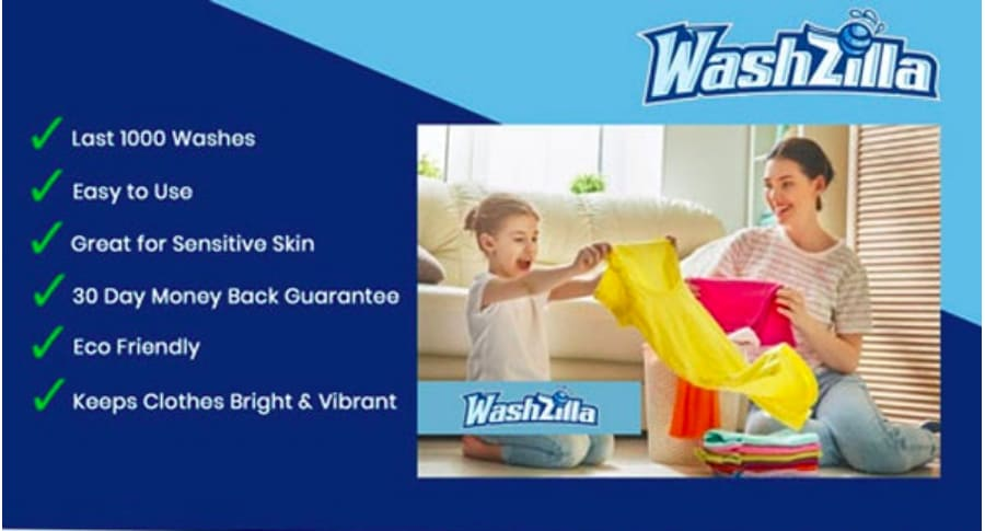 Washzilaa Bio Laundry ball