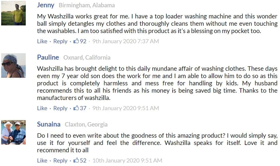 Washzilla Customer Reviews Dodbuzz