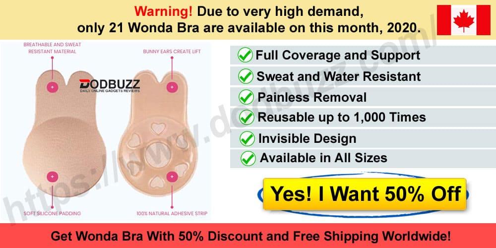 Wonda Bra Canada Reviews Where to Buy this