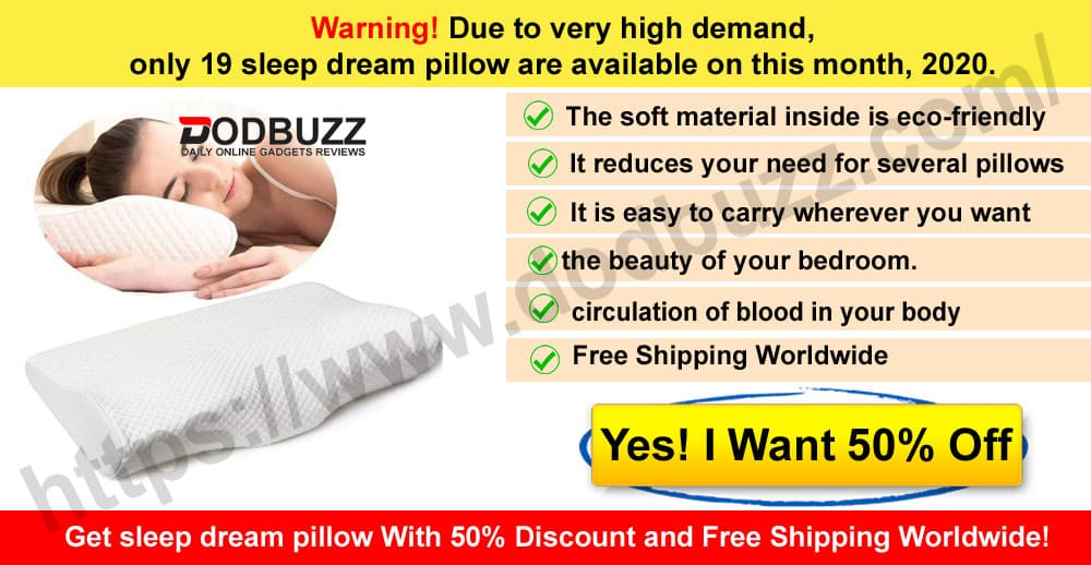 sleep dream pillow  Reviews Where to Buy