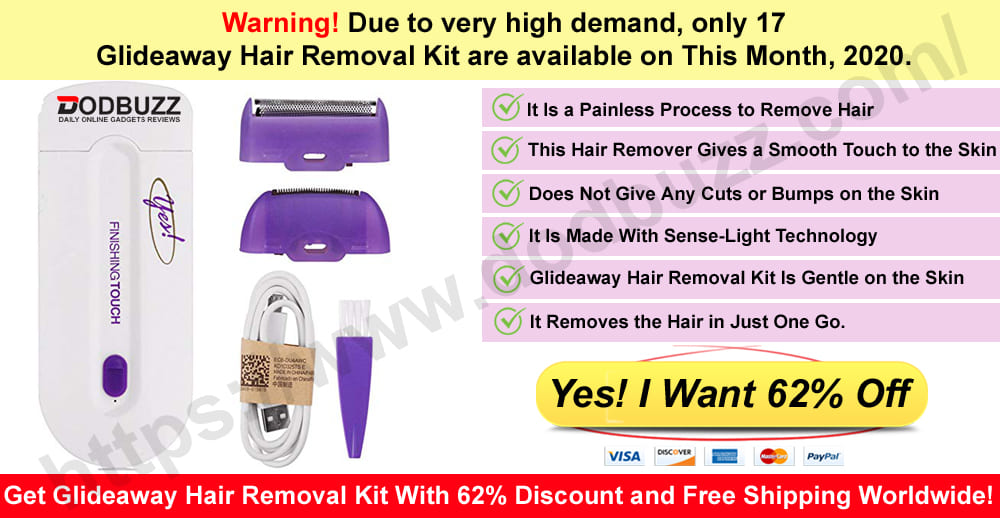 Glideaway Hair Removal Kit Where to buy