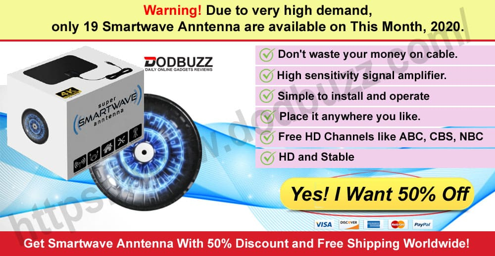 Smartwave Anntenna Review Where to Buy