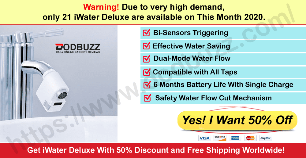 iWater Deluxe Where to Buy of dodbuzz