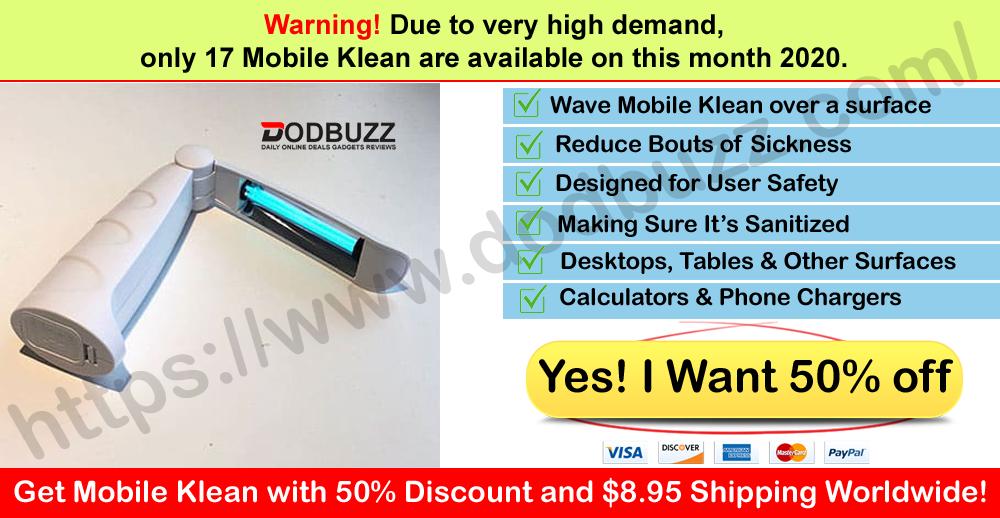 Buy Mobile Klean on Dodbuzz Website