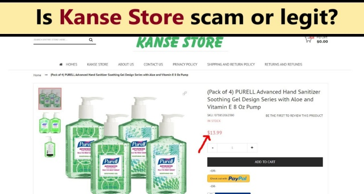 Kanse Store Reviews – Should You Go for It or Avoid Order