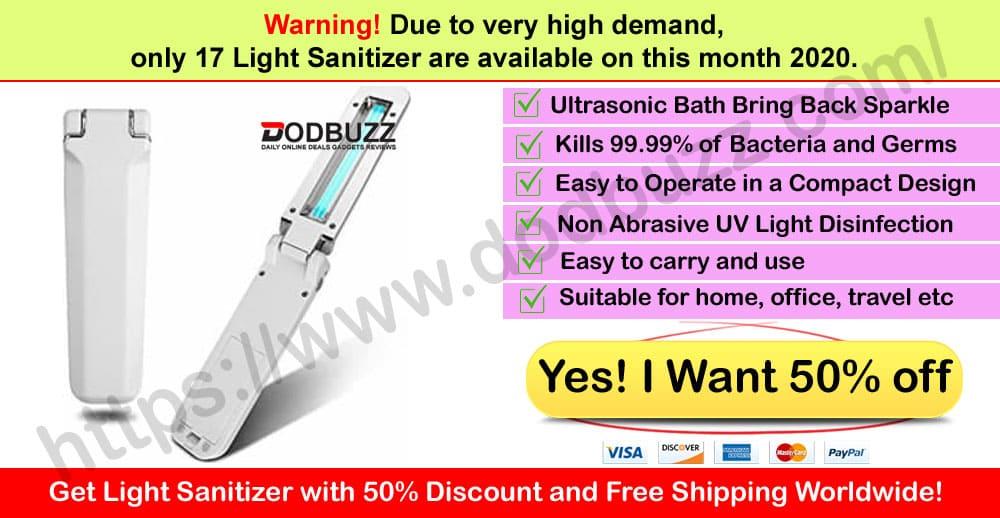 Light Sanitizer Where to Buy Dodbuzz