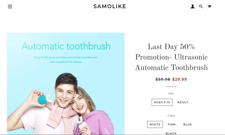 Samolike Toothbrush