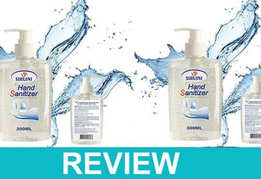 Siruini Hand Sanitizer Review Dodbuzz