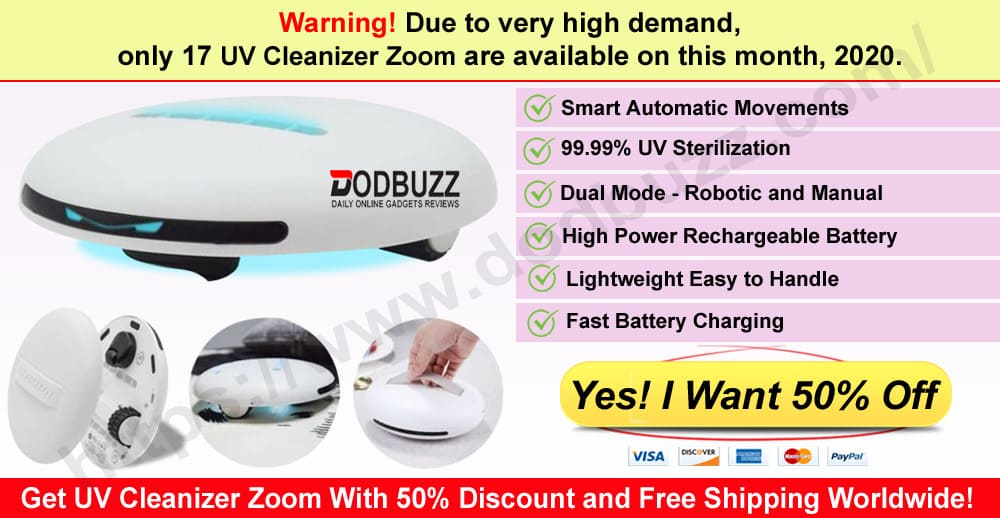 UV Cleanizer Zoom Where to Buy Dodbuzz