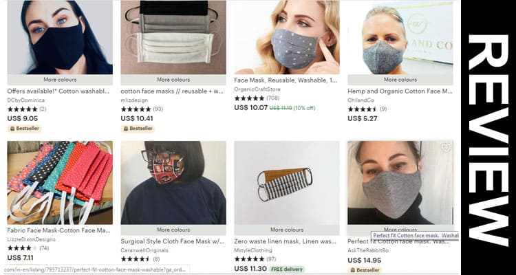 Etsy Cloth Face Mask Reviews 2020