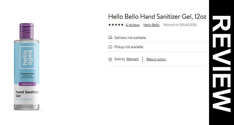 Get Hello Bello Hand Sanitizer Gel Website Reviews