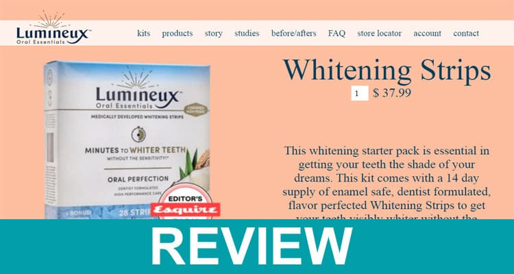 Lumineux Teeth Whitening Reviews 2020