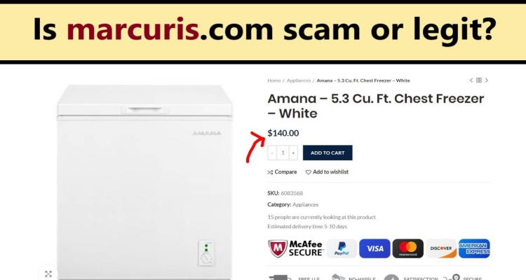 Marcuris com Website Reviews