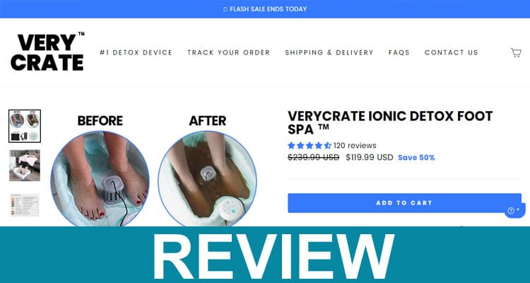 Very Crate Foot Spa Reviews