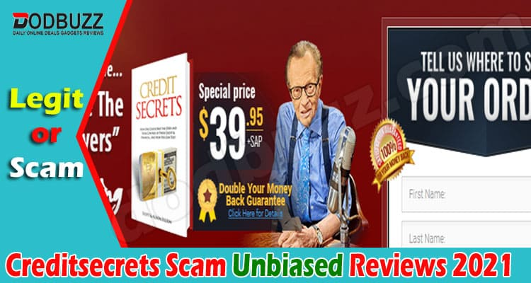 Creditsecrets Scam (May) Is It A Trustworthy Site