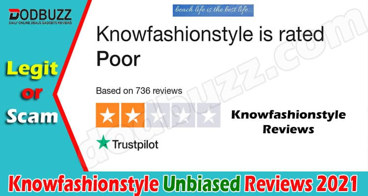 Knowfashionstyle Reviews [May] - Is It Secure to Buy
