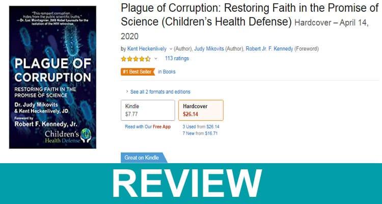 Plague of Corruption Book Review 2020