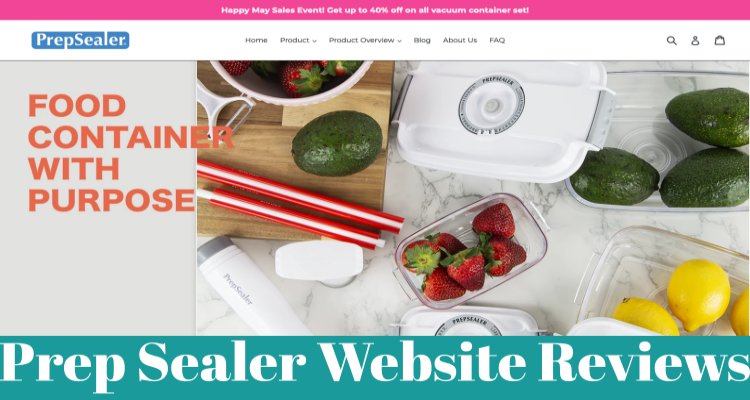 Prep Sealer Website Reviews