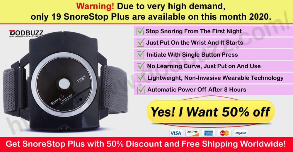 SnoreStop Plus Where to Buy
