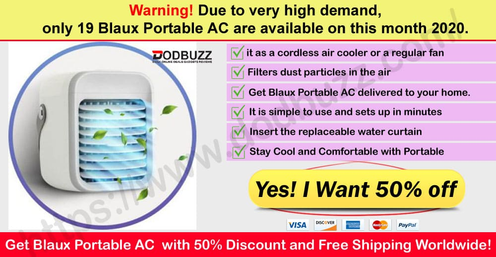 Blaux Portable AC Review Where to Buy