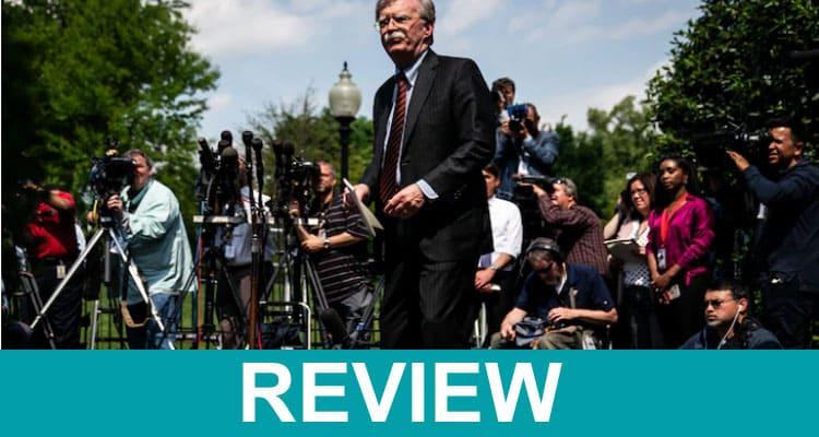 John Bolton Book Reviews 2020