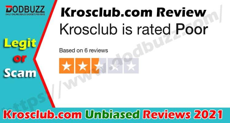 Krosclub.com Reviews [June] First Know its Legitimacy
