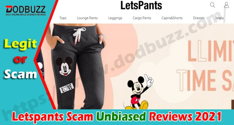 Letspants Scam [Sept 2020] Read This Before You Buy