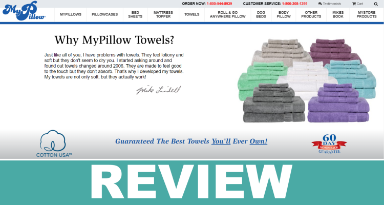My Pillow Towels Reviews