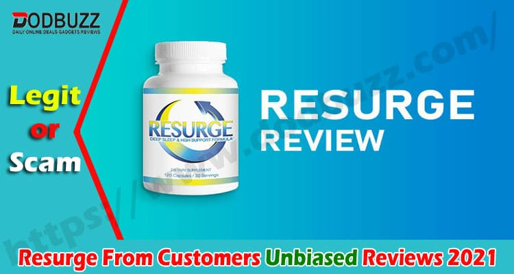 Resurge Reviews From Customers [June] First Read Then Buy