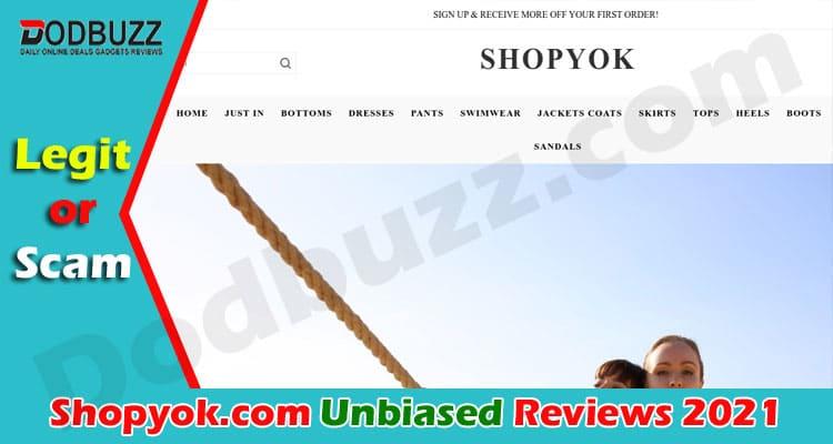 Shopyok.com Reviews [June] Is This a Scam Site