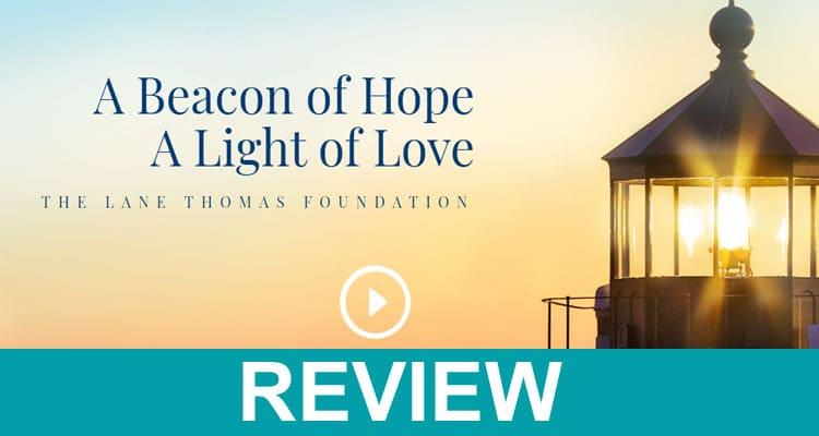 Thomas Lane Fundraiser Website 2020