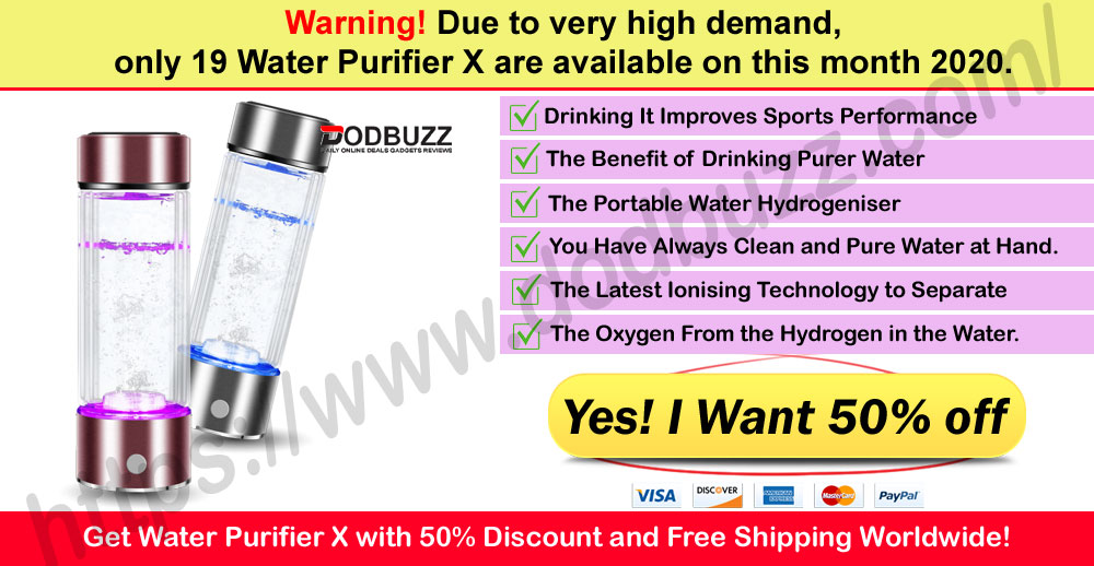 Water Purifier X Where to Buy