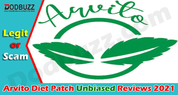 Arvito Diet Patch Reviews [July] Is This Patch Legit