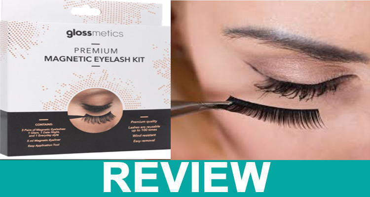 Glossmetics Magnetic Eyelashes Review,