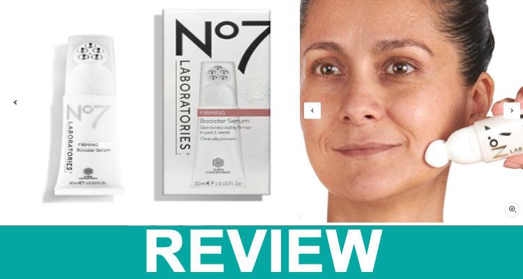 No 7 Firming Booster Serum Reviews