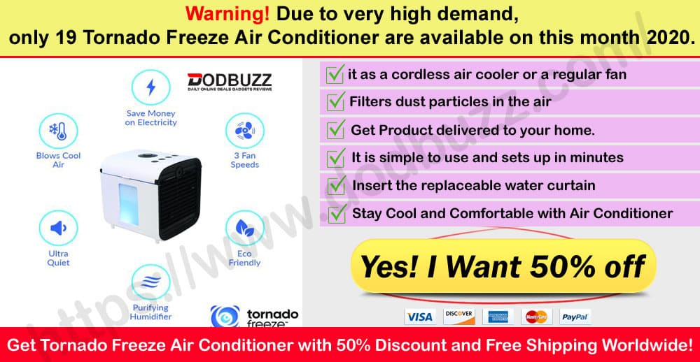 Tornado Freeze Air Conditioner where to buy