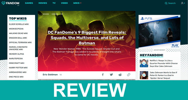 DC Fandom com Live