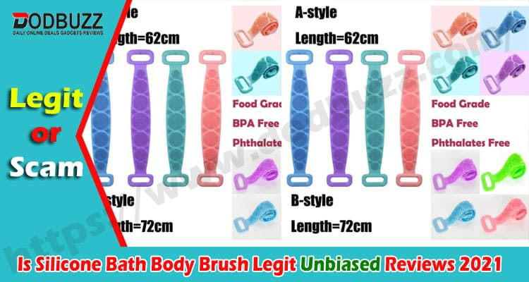 Is Silicone Bath Body Brush Legit {August} Review Now