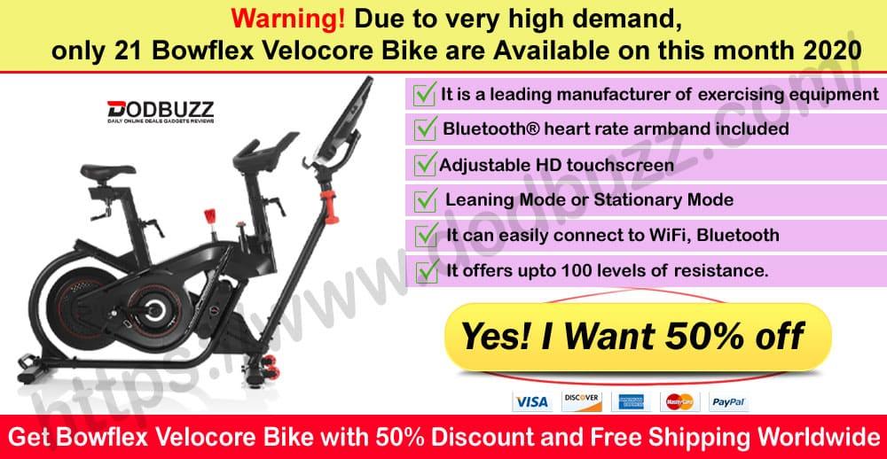 Bowflex Velocore Bike Review Where to Buy Dodbuzz