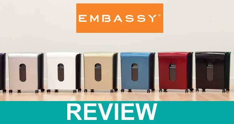 Embassy Shredder Review [Sep] Is It a Scam or Genuine