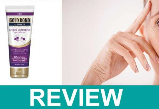 Gold Bond Crepey Corrector Review