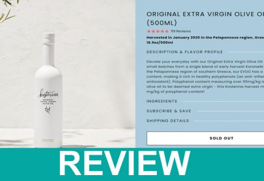 Kosterina Olive Oil Review,