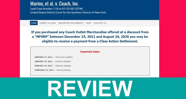 Marino Settlement Coach Review