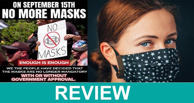 September 15 No More Masks