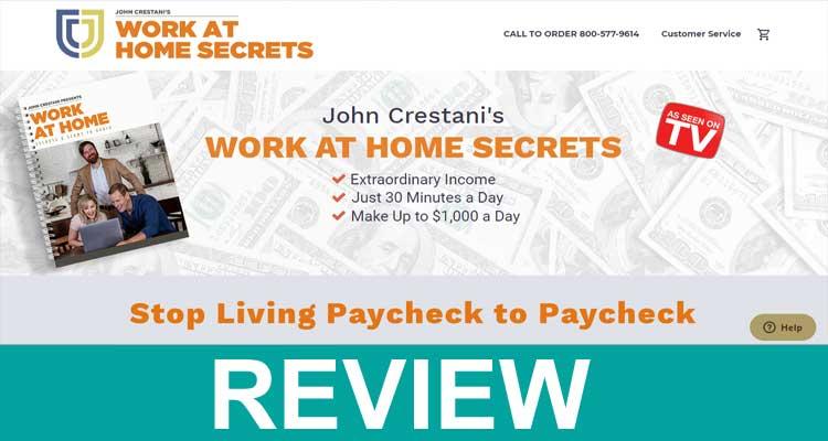 workathomesecret.com Review