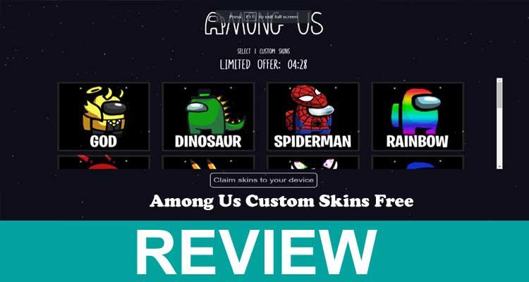 Among Us Custom Skins Free 2020